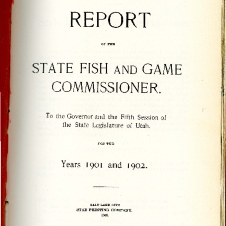 Report of the State Fish and Game Commissioner, 1901-1902