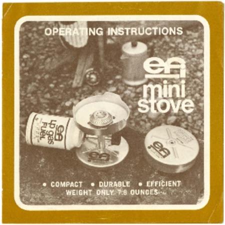 EFI Mini Stove, undated
