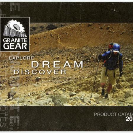 Granite Gear, product catalog 2010