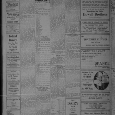"""A""-Day Greatest in College History, Student Life Article, 1921"