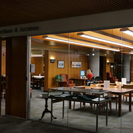 Tanner Reading Room, Special Collections and Archives