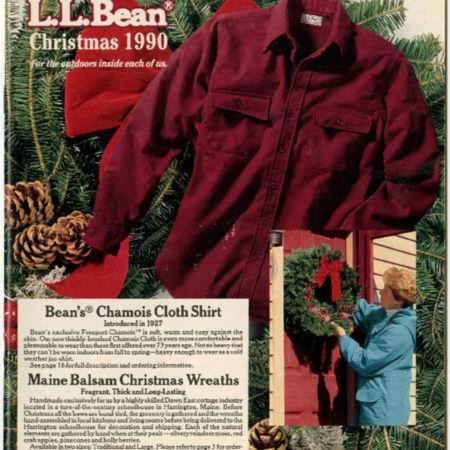 L.L. Bean, Christmas 1990