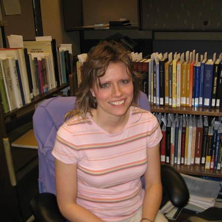 Tonya Sorenson, Cataloging Assistant, Merrill-Cazier Library