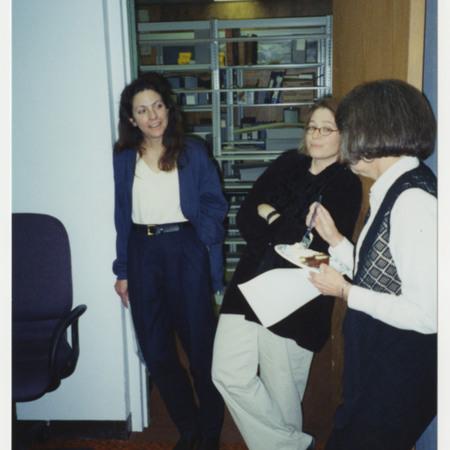 Left to right: Rose Milovich, Georgen Gilliam &amp; Ann Buttars<br />