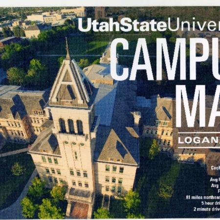 Utah State University campus map, 2014