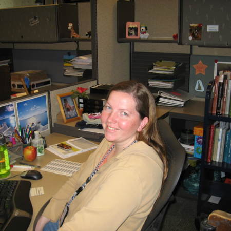 Jen Pitcher, Cataloging Assistant, Merrill-Cazier Library