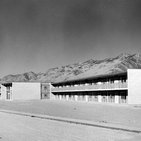 Bullen Hall, finished and ready for occupancy, 1959