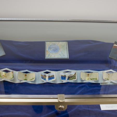 Jack London Exhibit, Crater Lake Panel, view 4