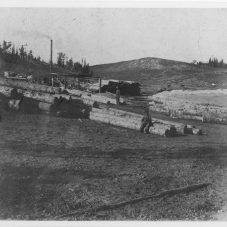 Rich County, Utah. Sawmills. 1890's;