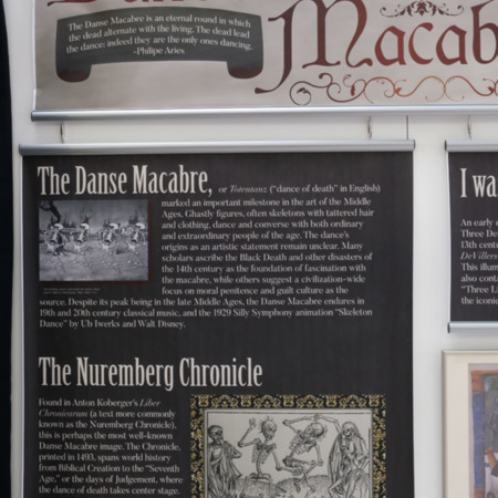 Physical Exhibit-Danse Macabre Panel 2