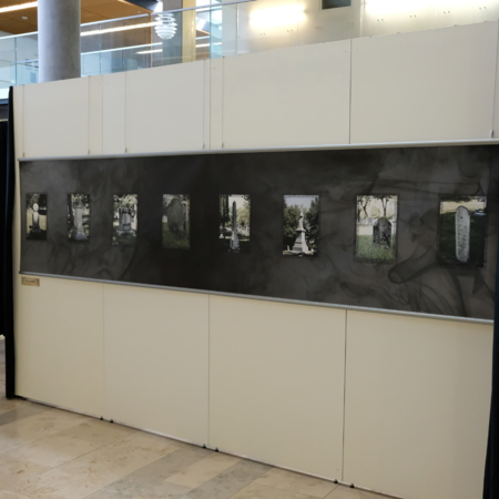 Physical Exhibit-side panel gravestones