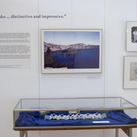 Jack London Exhibit, Crater Lake Panel, view 1