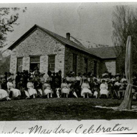 1914 Mayday celebration
