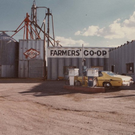 "Front view of the ""Farmers Co-op of Southern Utah, Enterprise, Utah;"