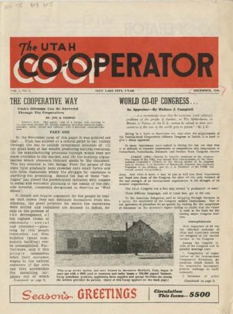 Utah Cooperator, December 1946