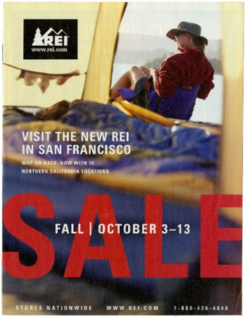 Recreational Equipment, Inc., Fall Sale, 2003