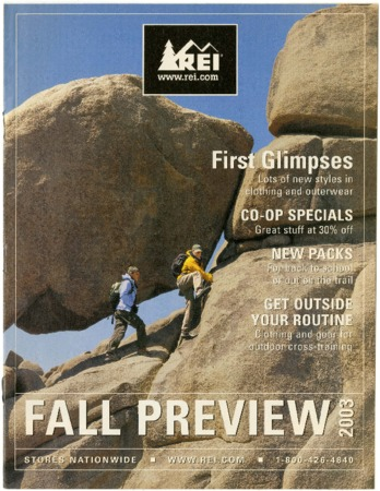 Recreational Equipment, Inc., Fall 2003