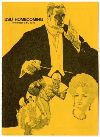 USU homecoming program, 1972