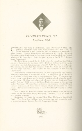 1909 A.C.U. Graduate Yearbook, Page 178
