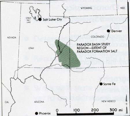 Paradox Basin Study Region