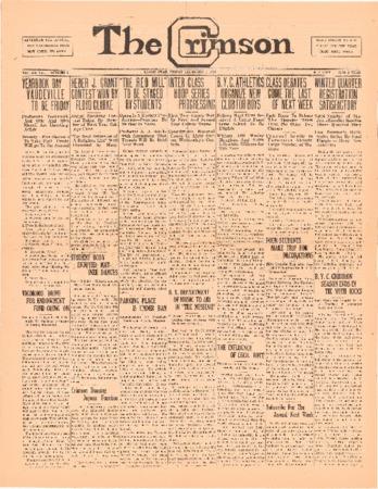 The Crimson, December 5, 1924