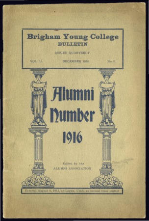 Brigham Young College Bulletin,  December 1916