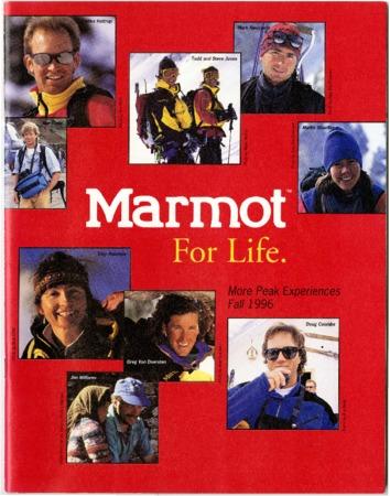 Marmot Mountain Works, Fall 1996