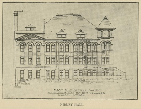 Plans for Nibley Hall