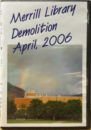 Merrill Library Demolition Timelapse Film Cover