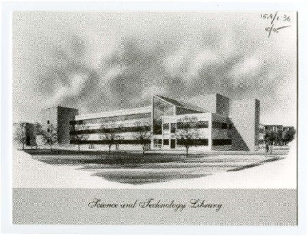 Invitation for the USU Science and Technology Library Dedication