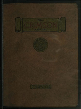 The Crimson Annual, 1921