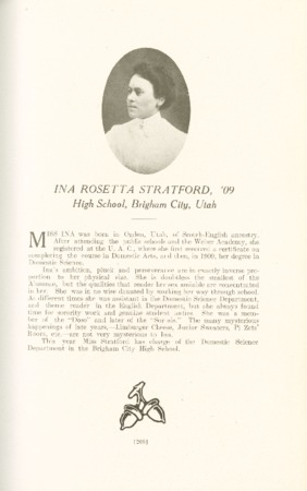 1909 A.C.U. Graduate Yearbook, Page 209