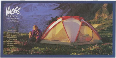 Moss Tent Works, 1996