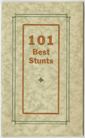 101 Best Stunts, 1933