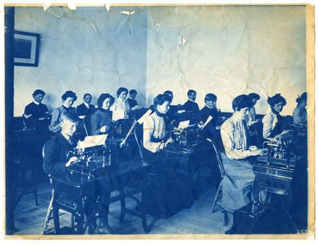 1896-1916 Agricultural College of Utah Cyanotype 12