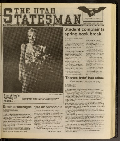 Statesman newspaper 1992-10-21