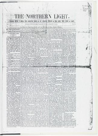 The Northern Light, August 8, 1879.