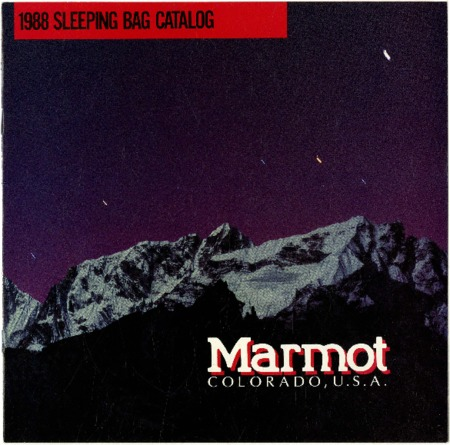 Marmot Mountain Works, 1988
