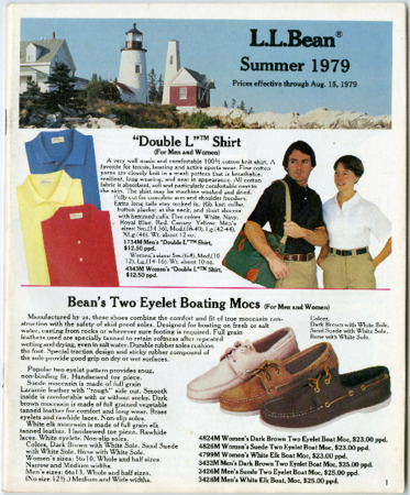 L.L. Bean, Summer 1979