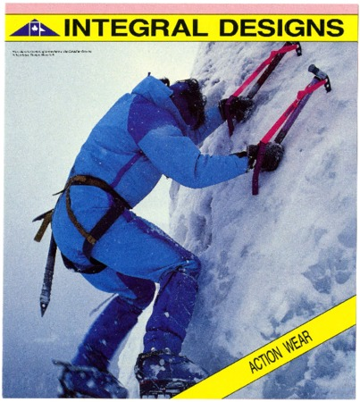 Integral Designs, Action Wear, undated