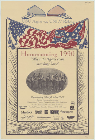 Homecoming poster, 1990