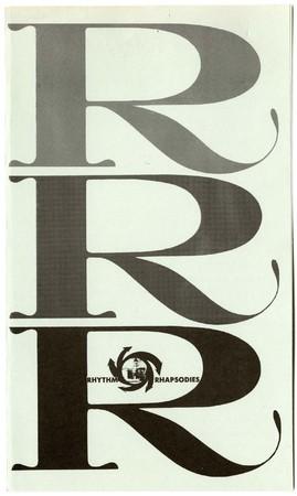 Rhythm Rhapsodies program, 1961