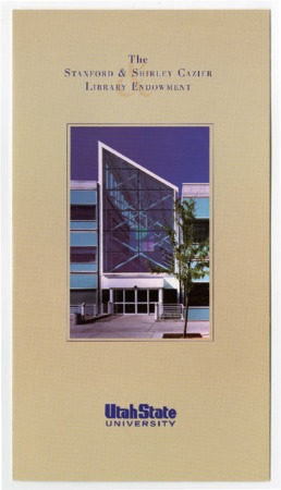 The Stanford & Shirley Cazier Library Endowment Brochure<br />