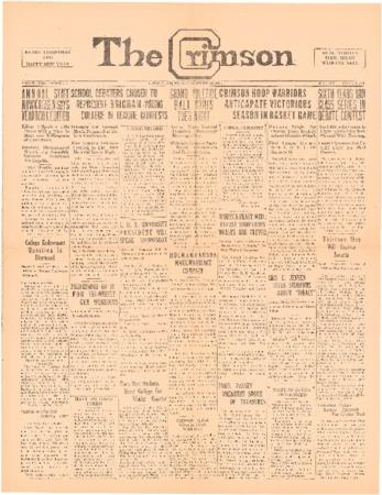 The Crimson, December 19, 1925