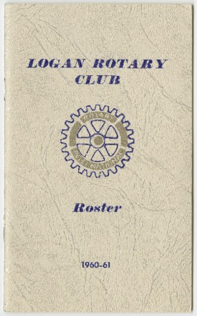 Logan Rotary Club Roster, 1960-61