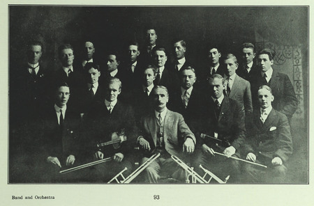 BYC Band and Orchestra (1915 Crimson Annual)