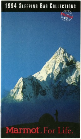 Marmot Mountain Works, Sleeping Bag, 1994