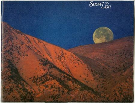 Snow Lion, 1976