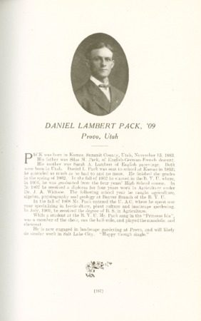 1909 A.C.U. Graduate Yearbook, Page 167
