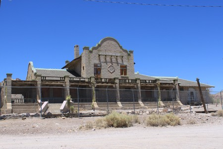 Rhyolite Train Depot